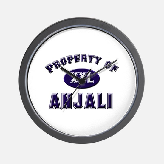 Property of anjali Wall Clock