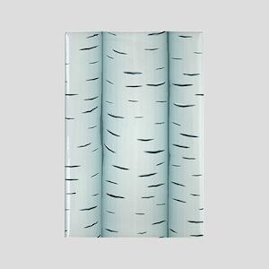 Birch Rectangle Magnet