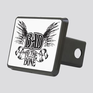 bad to the bone 1 Rectangular Hitch Cover