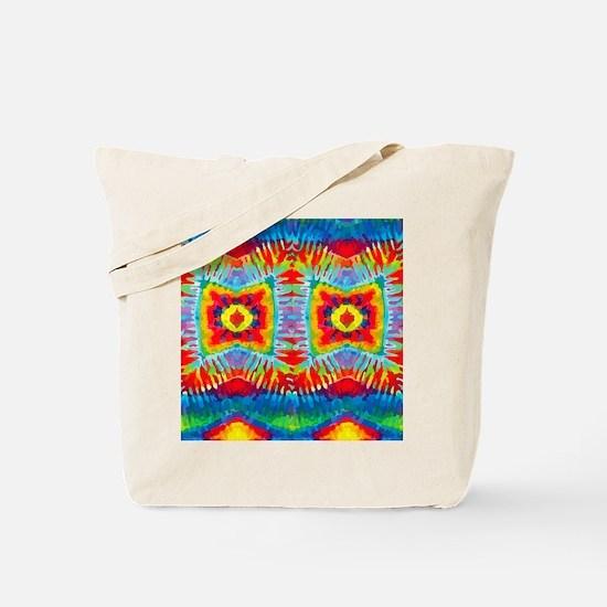Colorful Tie-Dye Tote Bag