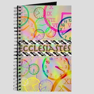 Ecclesiastes Poster Journal