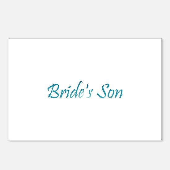 Bride's Son - Sea Blue Postcards (Package of 8)