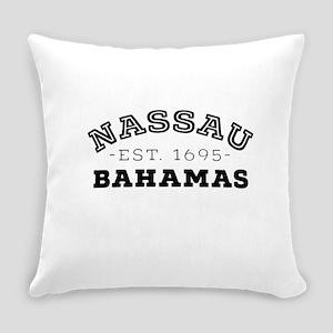 Nassau Bahamas Everyday Pillow