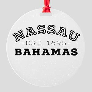 Nassau Bahamas Round Ornament