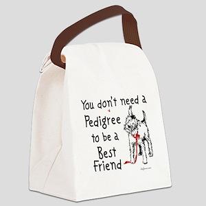 dontneeda Canvas Lunch Bag