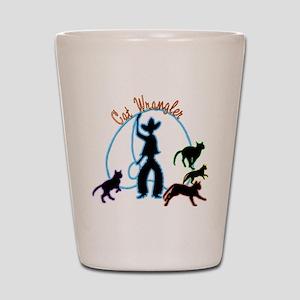 Cat Wrangler Light Shot Glass