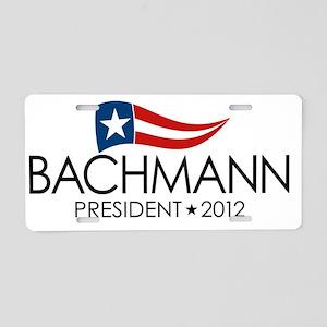 SQ_bachmann_flag_04 Aluminum License Plate