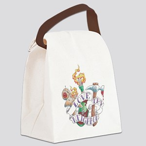 love thy neighbor2 Canvas Lunch Bag