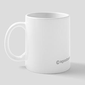 is good question mini white copy Mug