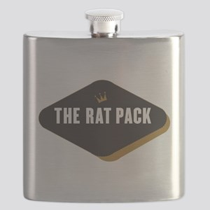 The Rat Pack Diamond Flask