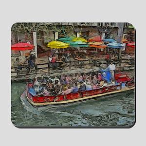 River Walk 14 x 10 Mousepad