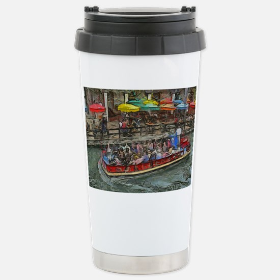 River Walk 14 x 10 Stainless Steel Travel Mug