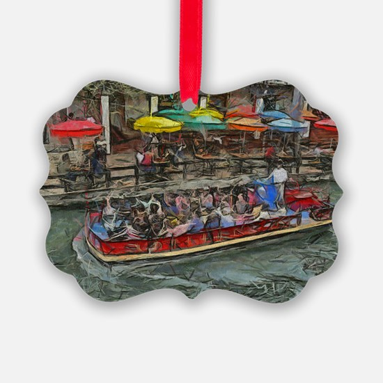 River Walk 14 x 10 Ornament