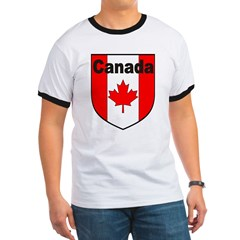 Canadian Flag Shield T