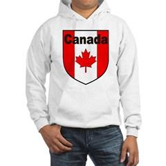 Canadian Flag Shield Hoodie
