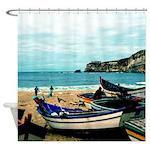 Portugal Algarve Cliffs Shower Curtain
