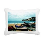 Portugal Algarve Cliffs Rectangular Canvas Pillow