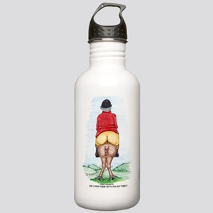 Funny Big Ass Fox Hunt Stainless Water Bottle 1.0L