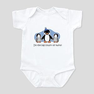Big Cousin of Twins (Penguin) Infant Bodysuit