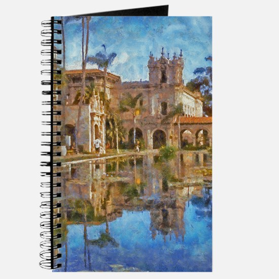 balboa park reflections 14 x 10 Journal