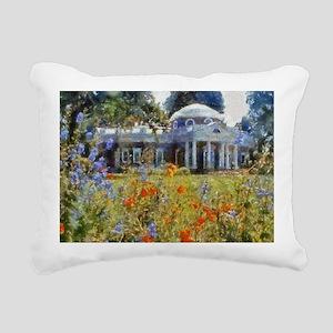 monticello 14 x 10 Rectangular Canvas Pillow