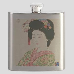 Choko Kamoshita Maiko-iPad 2-Case Flask