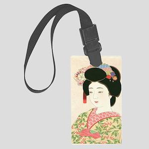 Choko Kamoshita Maiko-iPad 2-Cas Large Luggage Tag