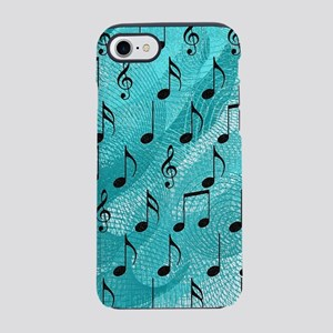 Music notes iPhone 7 Tough Case