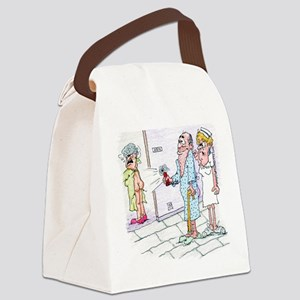 Funny Patient Hanky Panky Canvas Lunch Bag