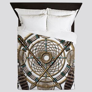 Dreamcatcher Medicine Wheel Queen Duvet