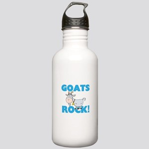 Goats rock! Stainless Water Bottle 1.0L