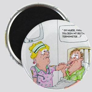 Funny Missing Rectal Thermometer Magnet