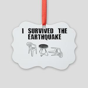 quake Picture Ornament
