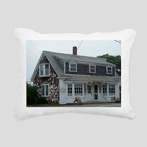 Capt Cass Rectangular Canvas Pillow