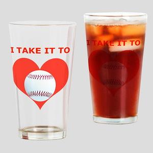 Baseball iPhone 4 Slider Case, Take Drinking Glass