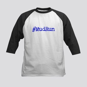 Hashtag Mud Run Baseball Jersey