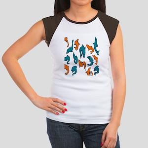 ff034 Women's Cap Sleeve T-Shirt