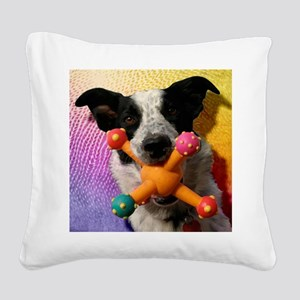 Gilligan-TriPodDogDesign Square Canvas Pillow