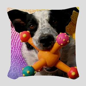 Gilligan-TriPodDogDesign Woven Throw Pillow