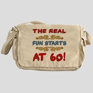 RealFun60 Messenger Bag