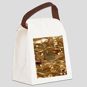 GoldFoil Canvas Lunch Bag