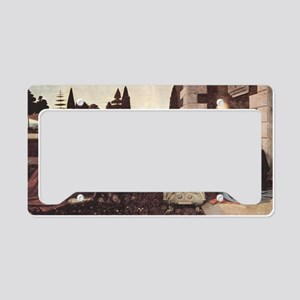 the-annunciation1 License Plate Holder