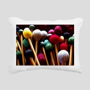 Mallets Rectangular Canvas Pillow