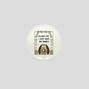 Fat Dog Mini Button