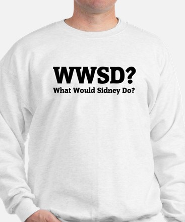 What would sidney do? Sweater