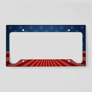 11x17 Romney Stars and Stripe License Plate Holder