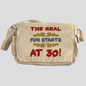 RealFun30 Messenger Bag
