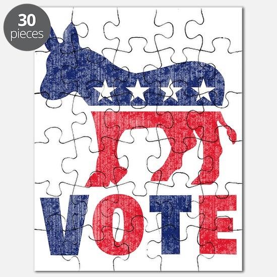 Democrat Donkey Vote 2 Puzzle