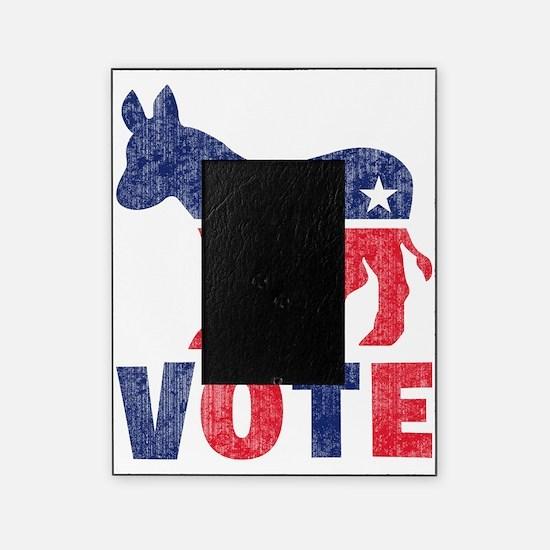 Democrat Donkey Vote 2 Picture Frame