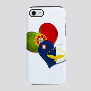 Portugal and Azores hearts iPhone 7 Tough Case